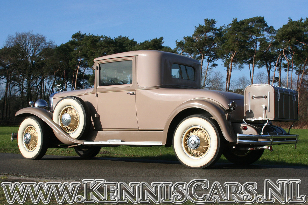 Cadillac 1930 La Salle 340 Coupe For Sale (picture 5 of 12)