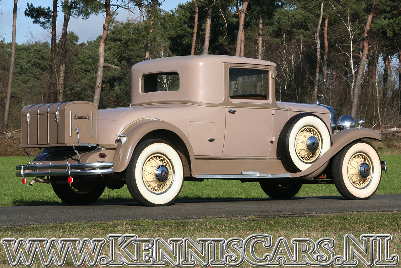 Cadillac 1930 La Salle 340 Coupe For Sale (picture 8 of 12)
