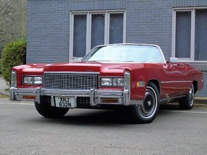 Picture of 1975 Cadillac Eldorado Convertible 8.2 LITRE SUPERB CONDITION For Sale