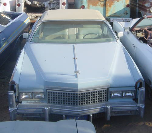 1974 74 Cadillac Eldorado Convertible For Sale