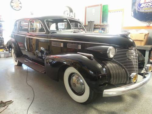 1940 Cadillac 72 Limousine For Sale (picture 1 of 6)