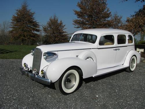 1937 V-12 Cadillac (One of 87 Built) For Sale (picture 1 of 6)