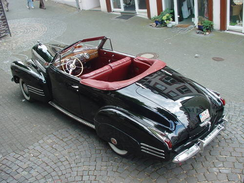 1941 Cadillac Convertible Series 62 Convertible Coupe Deluxe For Sale (picture 4 of 6)