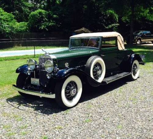 1931 Cadillac 370 Convertible V12 For Sale