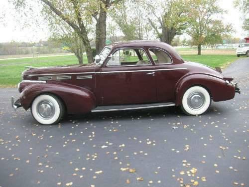 1940 Cadillac LaSalle 5-W Coupe For Sale (picture 1 of 4)