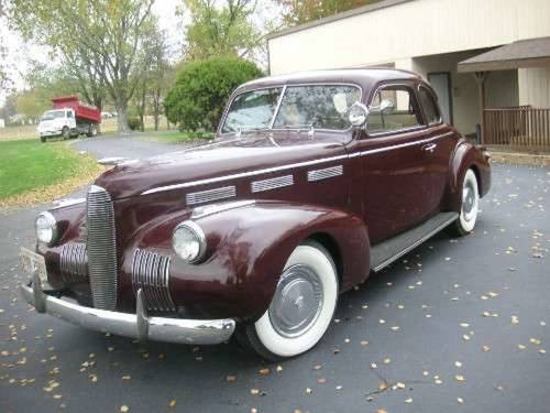 1940 Cadillac LaSalle 5-W Coupe For Sale (picture 2 of 4)
