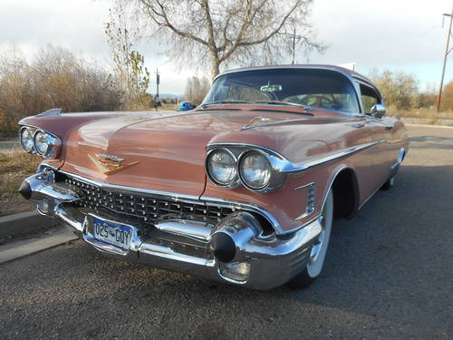 1958 Cadillac Eldorado Seville For Sale (picture 1 of 6)