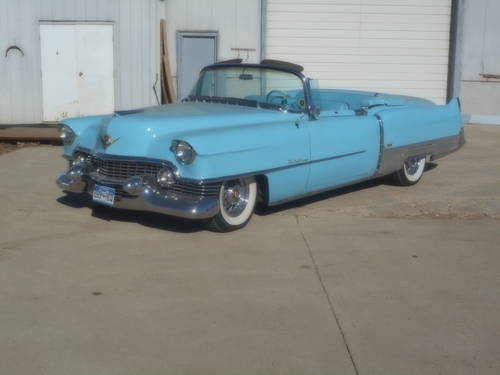 1954 Cadillac Eldorado Convertible For Sale (picture 1 of 6)