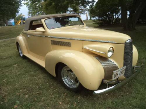 1939 Cadillac LaSalle Opera Convertible For Sale (picture 1 of 6)