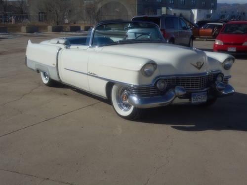 1954 Cadillac Eldorado Convertible SOLD (picture 2 of 6)