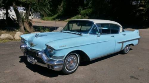 1957 Cadillac 62 4DR HT For Sale (picture 1 of 5)