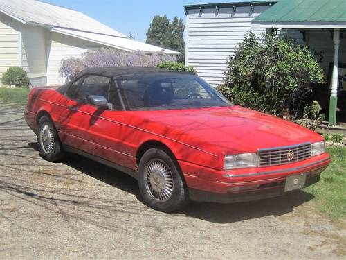 1992 Cadillac Allante Convertible For Sale (picture 2 of 6)