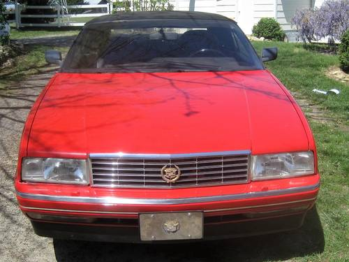 1992 Cadillac Allante Convertible For Sale (picture 3 of 6)