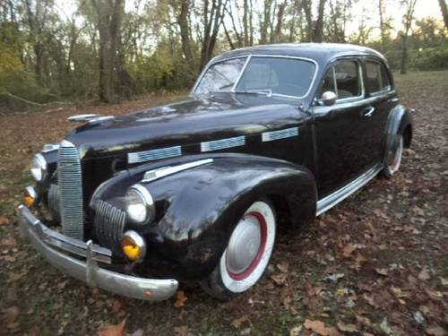 1940 Cadillac LaSalle 4DR Sedan For Sale (picture 1 of 6)