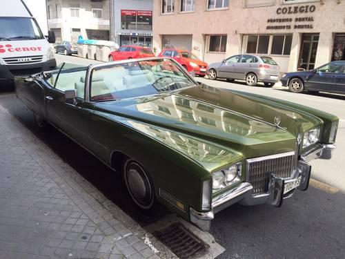 1971 Cadillac EL DORADO convertible - Spanish reg. For Sale (picture 1 of 6)