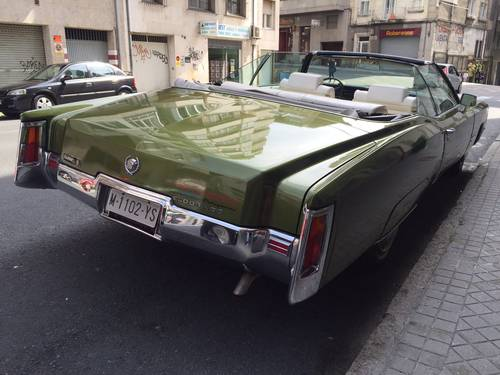 1971 Cadillac EL DORADO convertible - Spanish reg. For Sale (picture 3 of 6)