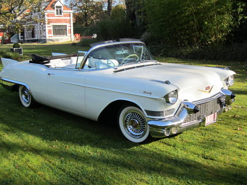 1957 Cadillac Eldorado Biarritz convertible. For Sale (picture 3 of 4)
