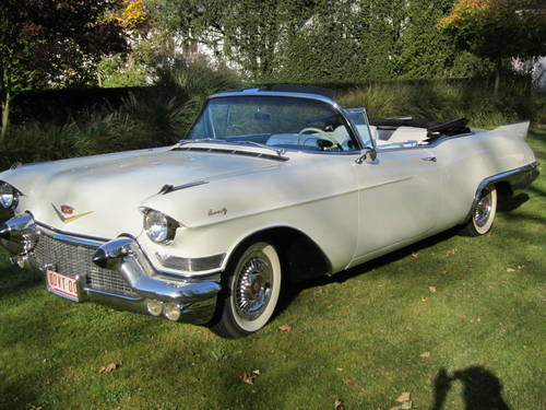 1957 Cadillac Eldorado Biarritz convertible. For Sale (picture 4 of 4)