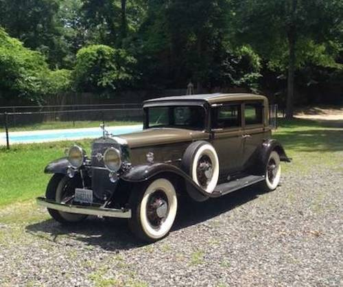 1931 Cadillac V12 Town Sedan For Sale