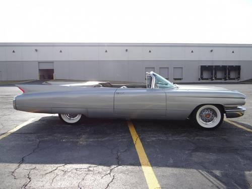 1960 Cadillac 62 Convertible * Silver For Sale (picture 2 of 6)