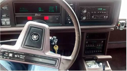 1988 Cadillac Eldorado For Sale (picture 4 of 6)