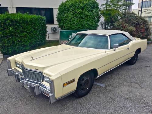 1978 Cadillac - Eldorado Convertible 3°series TOTALLY ORIGINAL For Sale (picture 1 of 6)