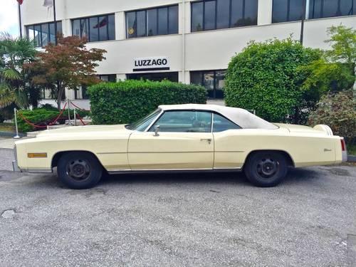 1978 Cadillac - Eldorado Convertible 3°series TOTALLY ORIGINAL For Sale (picture 2 of 6)