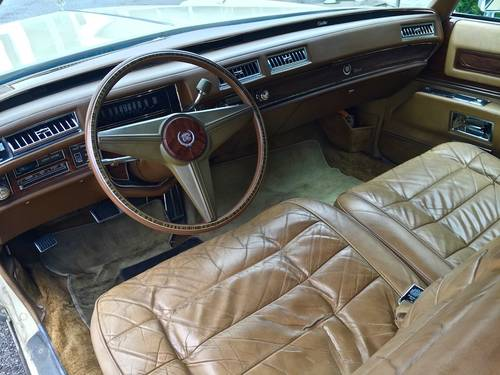 1978 Cadillac - Eldorado Convertible 3°series TOTALLY ORIGINAL For Sale (picture 4 of 6)