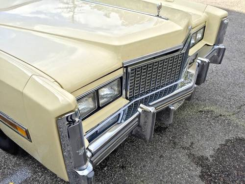 1978 Cadillac - Eldorado Convertible 3°series TOTALLY ORIGINAL For Sale (picture 6 of 6)