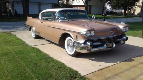 1958 Cadillac Eldorado Seville For Sale (picture 2 of 6)