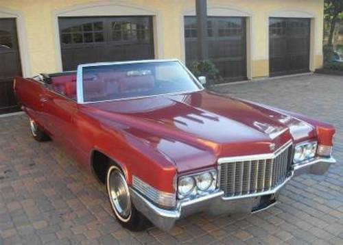 1970 Cadillac deVille Convertible For Sale (picture 1 of 1)