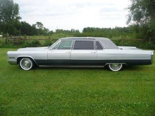 1966 Cadillac Fleetwood Limousine For Sale (picture 1 of 6)