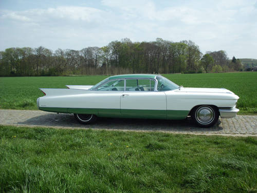 CADILLAC COUPE DE VILLE  1960 For Sale (picture 1 of 6)