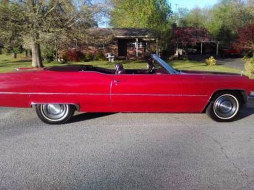 1969 Cadillac Convertible For Sale (picture 1 of 6)