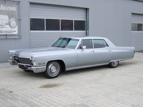 1968 Cadillac Fleetwood in unrestored -- timewarp condition For Sale (picture 1 of 6)