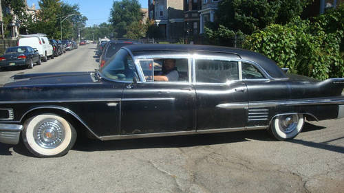 1958 Cadillac 75 Limousine For Sale (picture 1 of 6)