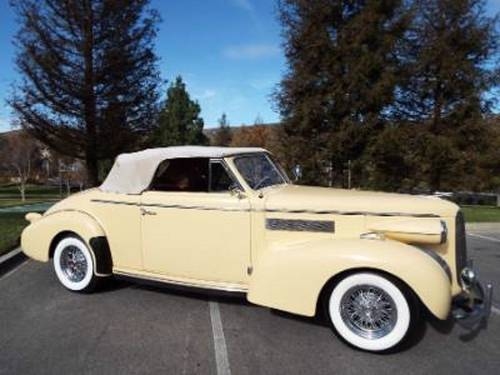 1939 Cadillac LaSalle 61 Convertible For Sale (picture 1 of 1)