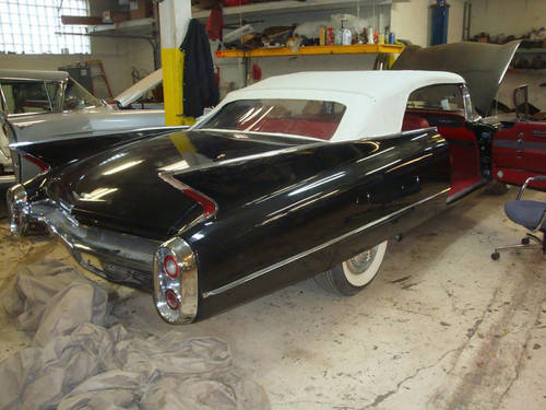 1960 Cadillac 62 Convertible For Sale (picture 1 of 4)