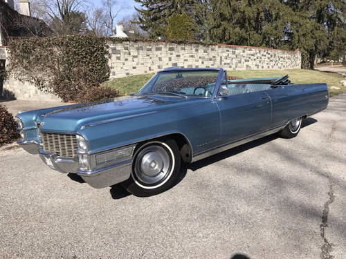 1965 Cadillac Eldorado Convertible For Sale (picture 1 of 6)