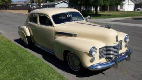 1941 Cadillac 61 4DR Sedan For Sale (picture 1 of 5)