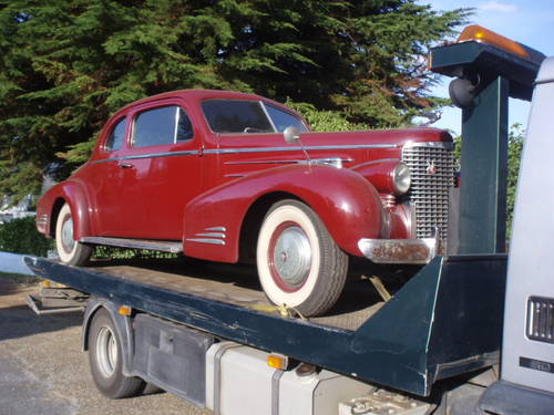 Mega Rare 1939 Cadillac Series 90 Coupe For Sale (picture 2 of 6)