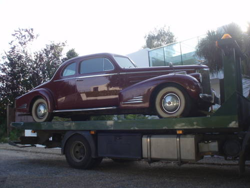Mega Rare 1939 Cadillac Series 90 Coupe For Sale (picture 3 of 6)
