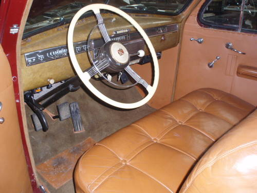 Mega Rare 1939 Cadillac Series 90 Coupe For Sale (picture 5 of 6)