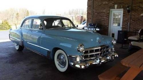 1949 Cadillac 62 4DR Sedan For Sale (picture 1 of 5)