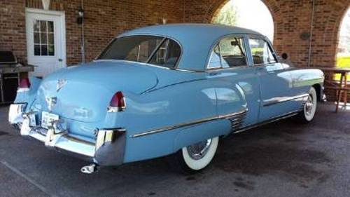 1949 Cadillac 62 4DR Sedan For Sale (picture 2 of 5)