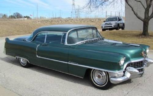 1955 Cadillac Coupe DeVille For Sale (picture 1 of 6)