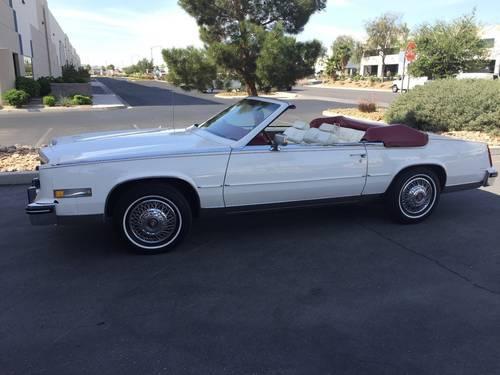 1985 Cadillac Eldorado Convertible For Sale (picture 1 of 6)