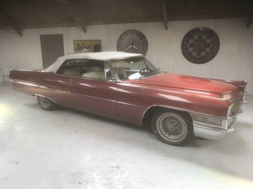 Cadillac Coupe De Ville Convertible 1965 Project SOLD (picture 1 of 6)