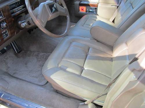 1986 Cadillac Fleetwood Brougham 4DR Sedan For Sale (picture 5 of 6)