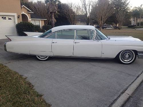 1960 Cadillac Fleetwood 4DR HT For Sale | Car And Classic